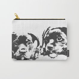 Rottweiler puppies Carry-All Pouch