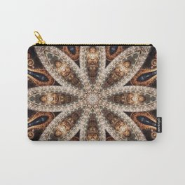Pecan Mandala Carry-All Pouch
