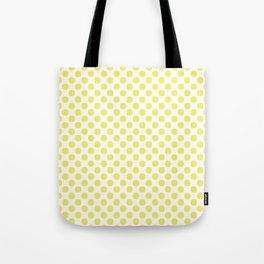 Yellow Small Polka Dots Tote Bag