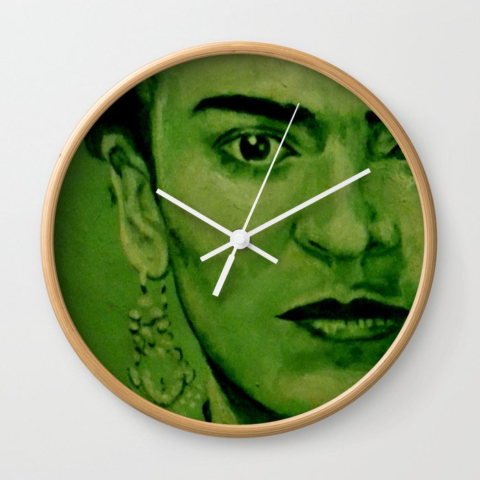 Frida Kahlo Original Wall Clock By Artito Society6