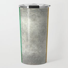 Republic of Ireland Flag, Vintage grungy Travel Mug