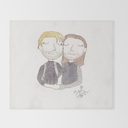 Stucky - everything's going to be okay Throw Blanket