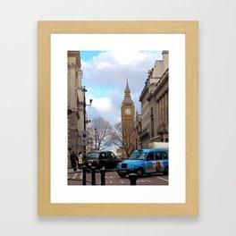 Big Ben - Colour Framed Art Print