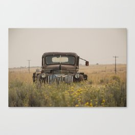 Of Days Gone By Canvas Print