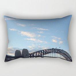 Sydney Australia harbour bridge Rectangular Pillow
