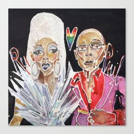 Ru Paul Canvas Print