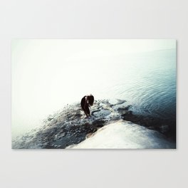 The in-between Canvas Print