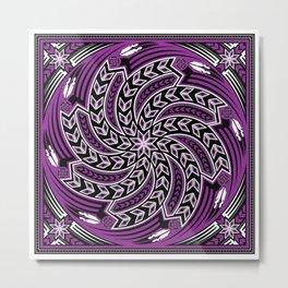 Wind Spirit (Purple) Metal Print
