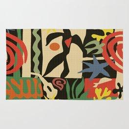 Inspired to Matisse (vintage) Rug