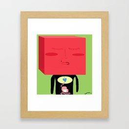 Ache Framed Art Print