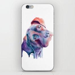 Labrador Boxer Watercolor iPhone Skin