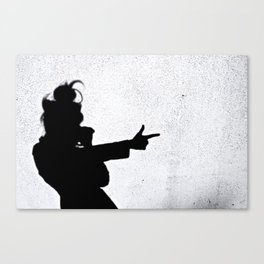 Ghost Shadow Shooter Canvas Print