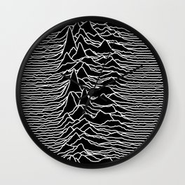 Joy Division - Unknown Pleasures Wall Clock