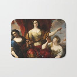 Prudence, Justice, and Peace by Jürgen Ovens, 1662 Bath Mat