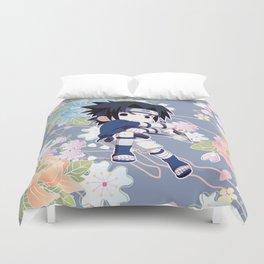 Chibi Sasuke Uchiha Duvet Cover