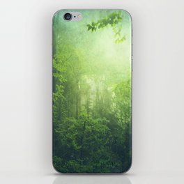 Lush Green Forest iPhone Skin