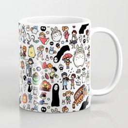 Kawaii Ghibli Doodle Coffee Mug