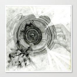 Inside My World Canvas Print