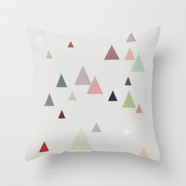 spring || in pastel colors Throw Pillow