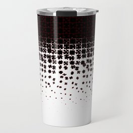 Be at Peace Not in Pieces Travel Mug