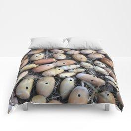 Acorns with Holes No.2 Comforters