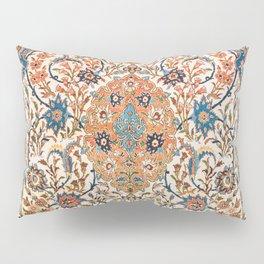 Isfahan Antique Central Persian Carpet Print Pillow Sham