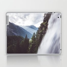 Behind Stuibenfall - Landscape and Nature Photography Laptop & iPad Skin