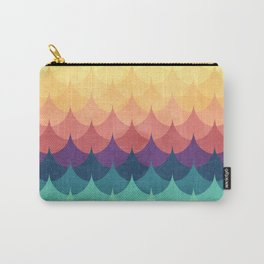 Sailing in Rainbow Waves Carry-All Pouch