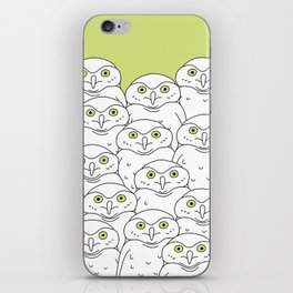 Group of Owls iPhone Skin