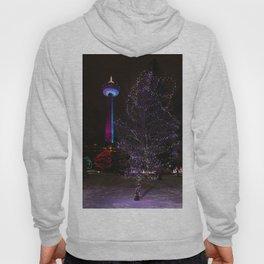 Skylon Tower with Christmas Lights Hoody