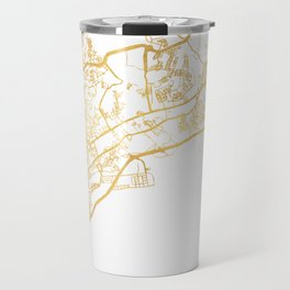 PANAMA CITY STREET MAP ART Travel Mug
