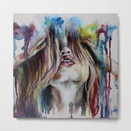 Haircolor (Study) Metal Print