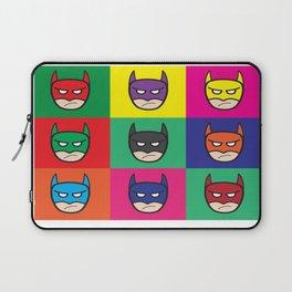 Bat-Popart-Man Laptop Sleeve