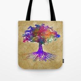 Tree Of Life Batik Print Umhängetasche