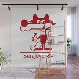 Vucko - Mascot 1984 - Sarajevo Wall Mural