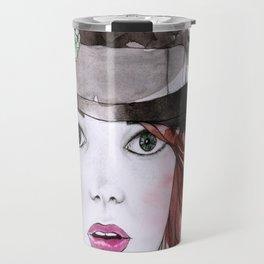 Emma Stone Travel Mug