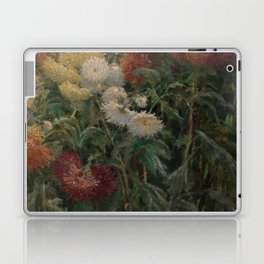 Gustave Caillebotte - Chrysanthemums in the Garden at Petit-Gennevilliers (1893) Laptop & iPad Skin