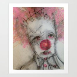 be my frown Art Print