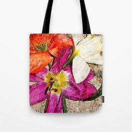 Fleurs vintages Tote Bag