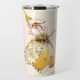 Aurorafalter butterfly Travel Mug
