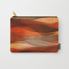 """Sea of sand and caramel waves"" Carry-All Pouch"