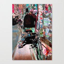 Rickshaw Man Canvas Print