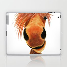 Happy Horse ' GINGER NUT ' by Shirley MacArthur Laptop & iPad Skin