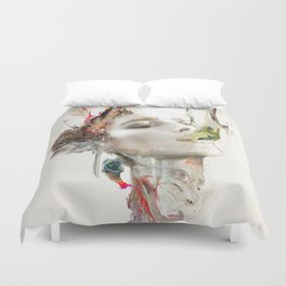 Morning Chorus Duvet Cover
