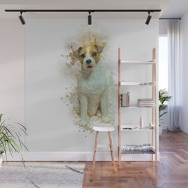 Jack Russell Wall Mural
