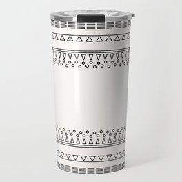 Tribal Pattern of Balondo Travel Mug