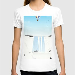 Fly away on a fair wind to anywhere T-shirt