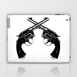 Crossed Revolvers Laptop & iPad Skin