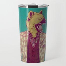 Elwood the Hyena Travel Mug