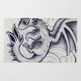 Baby Dragon Rug